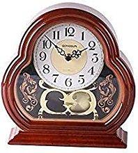 FYHH-JZHY Mute Mantel Clocks, Decorative