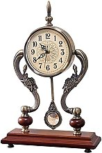 FYHH-JZHY New Upgrade Fireplace Clock With