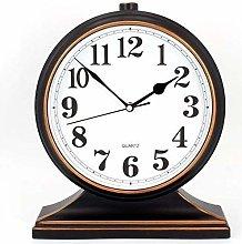 FYHH-JZHY Vintage Retro Table Clocks Pm Fireplace
