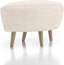 Fynn Footstool Corrigan Studio Upholstery Colour: