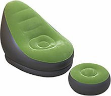 FYQF Inflatable Lounge Chair, Blow Up Chaise with