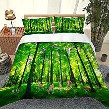 FYVEJI Single Duvet Cover Set Bedding Set