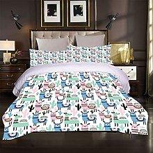 FYVEJI Super King Duvet Cover Set Bedding Set