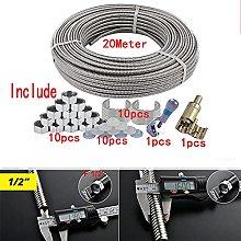 FYYONG 1 Set 20Meter 304 Stainless Steel