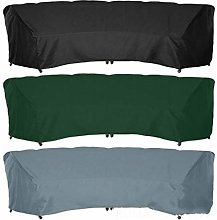FYZS Patio Curved Sofa Cover, Outdoor Sectional