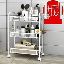 FYZS Service Carts 3/4/5 Layer Rolling Basket