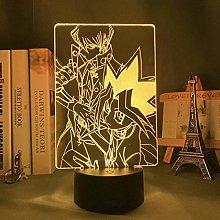 FZRZGDSH 3D Lamp Anime YuGiOh Trading Card Game