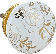 G Decor Royal Gold Ceramic Door Knobs Vintage