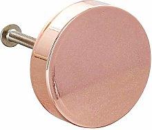 G Decor Set of 6 Rose Gold Copper 40mm Round