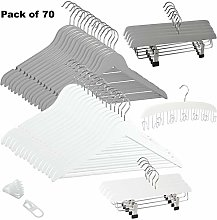 G Decor White for Her + Grey for Him Pack of 70