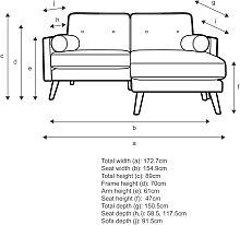 G Plan Vintage The Sixty Five Medium 2 Seater