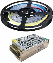 G.W.S® 24V DC 5 Meters COB LED Strip Light, IP20