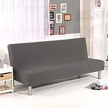 G&X Armless Sofa Bed Cover Polyester Spandex