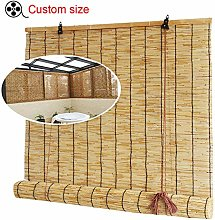 G&Y Bamboo Roller Blinds, Privacy Window Blinds,