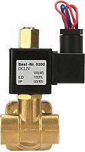G1/2in Brass Electric Solenoid Valve Direct Action