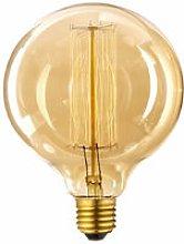 G125 E27 60W Dimmable Vintage Filament Bulb