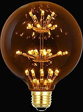 G95 Vintage Edison Bulbs Warm White,KINGCOO 3W