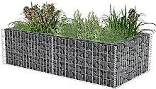 Gabion Stone Basket | Gabion Planter Galvanised