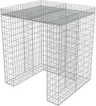 Gabion Wall for Garbage Bin Galvanised Steel