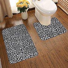 GABRI Bathroom Rug Mat Set 2 Piece,Extra Soft and