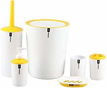 Gabz New Elegant 6 PC Bathroom Accessories Set |