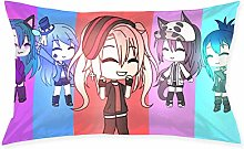 Gacha Life1pc Room, Sofa Pillowcase, Rectangle