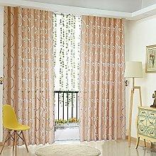 Gaddrt® 1 Panel Vines Leaves Tulle Door Window