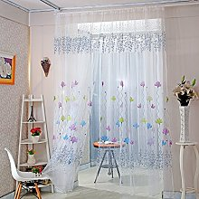 Gaddrt® 1 Panel Window Curtain, Lotus Sheer