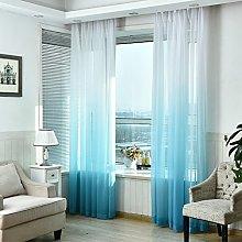Gaddrt® 1 Panel Window Curtain Tulle Door Window