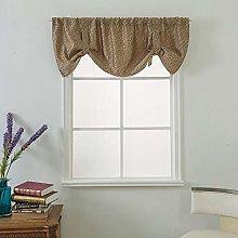 Gaddrt® 1 Panel Window Curtain Valance Curtains