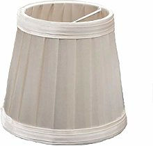 Gaddrt 110mm Vintage Fabric Pleated Lampshade