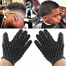Gaddrt 1Pair Sponge Gloves Fashion Curls Coil