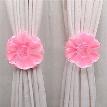 Gaddrt® 1Pcs Flower Curtain Clip-on Tie Backs