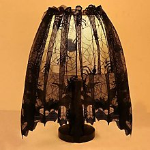 Gaddrt 3 in 1 Halloween Knitted Curtain Lamp Cover