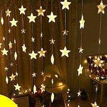 Gaddrt 4m Star Curtain Lights 40 Star LEDs Lights