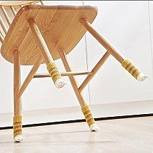 Gaddrt 4Pcs Chair Table Leg Floor Protector Foot
