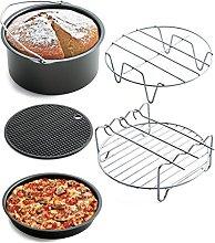 Gaddrt Air Frying Pan Accessories 5pcs Fryer