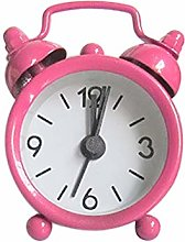 Gaddrt Alarm Clock Creative Cute Mini Metal Small
