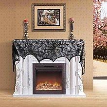 Gaddrt Bat Spider Web Lace Table Lamp Fireplace