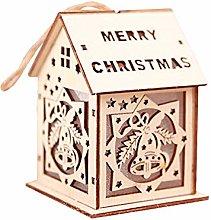Gaddrt Christmas Chalet Light, LED Light Chalet