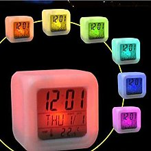 Gaddrt Digital Alarm Clock Thermometer Night