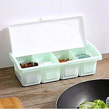 Gaddrt Seasoning Box Spoon Durable Seasoning Rack