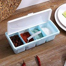 Gaddrt Seasoning Box Spoon Durable Seasoning Rack