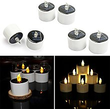 Gaddrt Solar Powered LED Candles Flameless