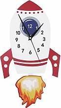 GAESHOW Cartoon Mute Wall Clock Kids Unique Gifts