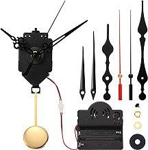 Gaetooely Quartz Pendulum Trigger Clock Movement