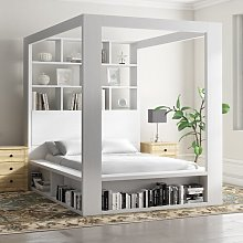 Gage European Kingsize Bed Frame Ebern Designs