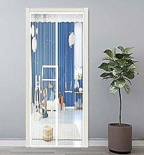 GAIJUAN Magnetic Door Screen 70x210cm Magnetic