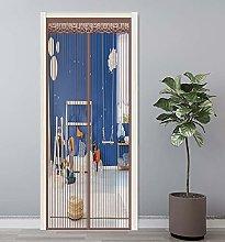 GAIJUAN Magnetic Screen Door 120x260cm Magnetic