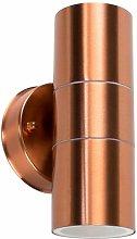 Gainsford GU10 Up Down IP44 Wall Light Copper - 2